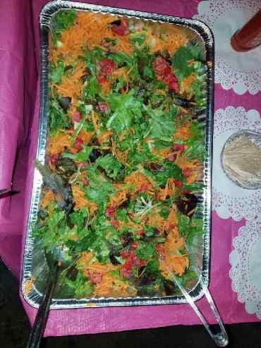 Mixed Green Garden Salad
